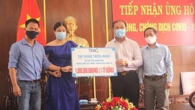 Mặt trận Quảng Nam tiếp nhận 1,4 tỷ đồng ủng hộ phòng, chống dịch Covid-19