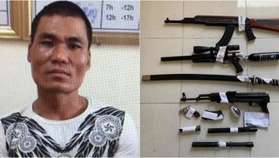 Hà Nội: Bắt chủ quán Karaoke buôn ma túy, thu giữ nhiều súng đạn