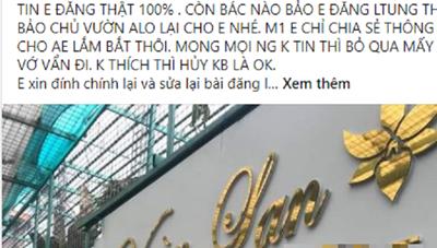 Công an Hà Nội chỉ đạo làm rõ vụ 'chủ vườn lan bỏ trốn cùng 200 tỷ'