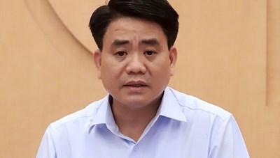 Ông Nguyễn Đức Chung tiếp tục bị khởi tố vì vi phạm quy định đấu thầu