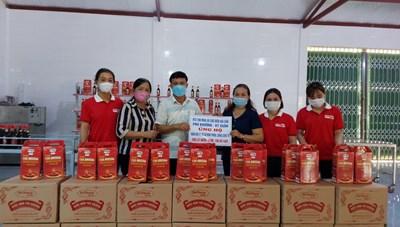 Hà Tĩnh: Huyện Kỳ Anh ủng hộ hơn 129 tấn lương thực, thực phẩm cho đồng bào miền Nam