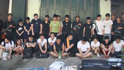 Lào Cai: Bắt 21 đối tượng người Trung Quốc trốn truy nã