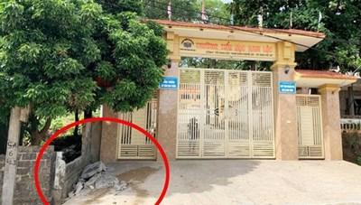 Đổ tường nhà dân trước cổng trường, nam sinh lớp 5 tử vong