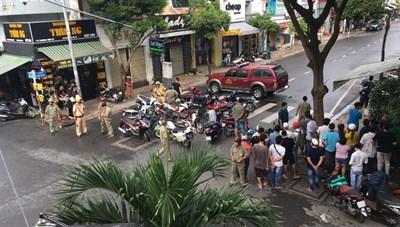 Bắt người phụ nữ cướp ngân hàng ở TP HCM