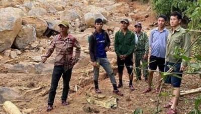 Tìm thấy thi thể 3 người còn lại trong nhóm bị vùi lấp khi tìm trầm