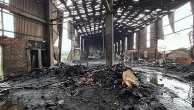 Nổ lò hơi xưởng sản xuất giấy ở Bắc Ninh,  2 người thương vong