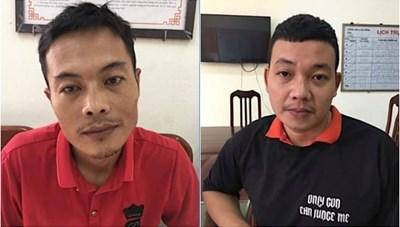 Bắt giữ hai đối tượng trộm cắp nhiều xe máy tại chung cư ở Hà Nội