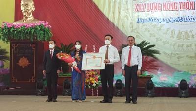 Thành phố Bạc Liêu được công nhận đạt chuẩn nông thôn mới