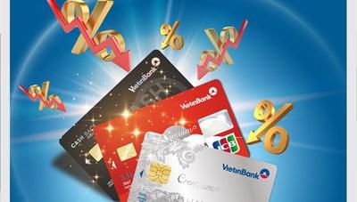 Thông báo điều chỉnh lãi suất và tỷ lệ trích nợ tối thiểu thẻ tín dụng