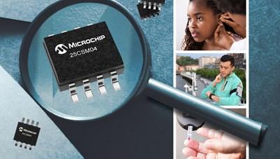 EEPROM Serial 4 Mbit mới của Microchip mang đến độ linh hoạt và tin cậy cao hơn
