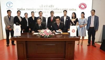 Tập đoàn C.T Group hợp tác toàn diện với trường Đại học Ngoại thương cơ sở II tại TP HCM
