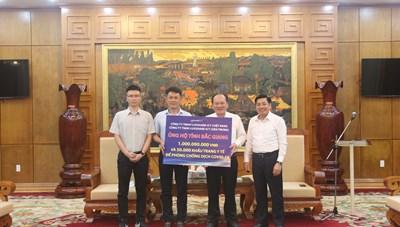 Bắc Giang hỗ trợ Hải Dương 2 tỷ đồng phòng chống dịch Covid-19