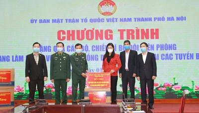 Hà Nội tiếp tục kêu gọi ủng hộ công tác phòng, chống dịch Covid-19