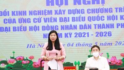 Hà Nội: Gặp mặt 40 ứng cử viên tham gia ứng cử ĐBQH và HĐND thành phố