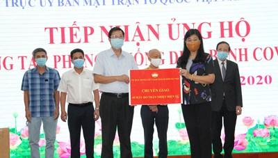 Hà Nội: Tiếp tục tiếp nhận ủng hộ phòng, chống dịch Covid-19