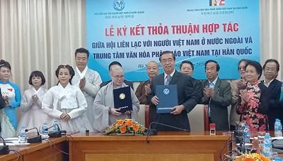 Kết nối văn hóa Việt  Nam - Hàn Quốc