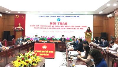 Nâng cao chất lượng công tác đối ngoại nhân dân trên địa bàn Thủ đô