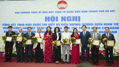 Hà Nội: Sôi nổi các hoạt động kỷ niệm ngày truyền thống Mặt trận