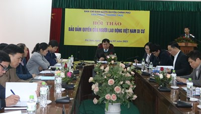 Đảm bảo quyền của người lao động Việt Nam di cư