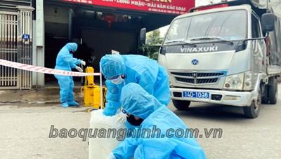 Quảng Ninh: Phong tỏa 47 hộ dân gần nhà bệnh nhân 1553