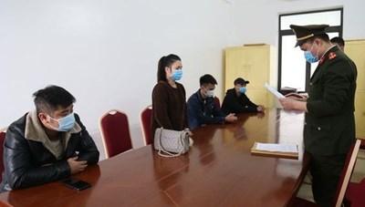 Quảng Ninh: Phạt 25 triệu đồng 4 đối tượng vi phạm quy định tại chốt kiểm soát dịch bệnh Covid-19