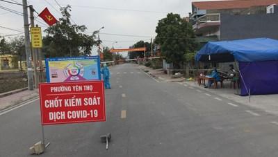 Quảng Ninh: Tiếp tục gỡ bỏ phong tỏa tạm thời đối với 2 xã ở thị xã Đông Triều