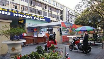 Hải Phòng: Xem xét dỡ phong tỏa hai Bệnh viện Phụ sản, Trẻ em