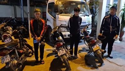 Hải Phòng: Liên tiếp bắt giữ những đối tượng đua xe máy trái phép