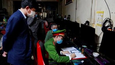 Quảng Ninh: Xử lý 1 quán game vi phạm quy định phòng chống dịch