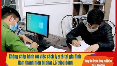 Quảng Ninh: Phạt F1 'vượt rào' đi dạy lái ô tô 7,5 triệu