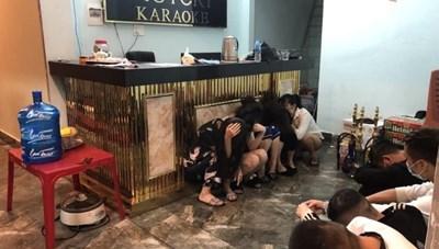 Quảng Ninh: Triệt phá nhóm đối tượng tổ chức sử dụng ma túy giữa mùa dịch