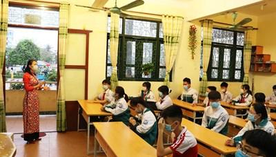 Quảng Ninh: Học sinh vùng dịch Đông Triều đi học trở lại