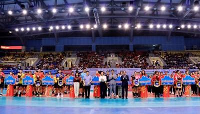 Vòng 1 bảng A Giải bóng chuyền Vô địch Quốc gia 2021 chính thức khai mạc