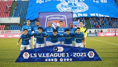 Hoãn trận đấu Than Quảng Ninh – HAGL vì Covid-19