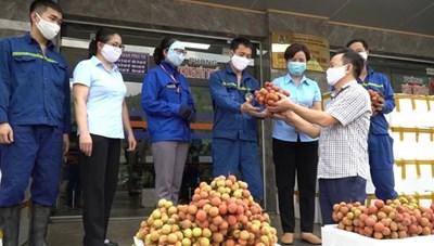 Quảng Ninh: Hỗ trợ tiêu thụ 60 tấn vải Bắc Giang