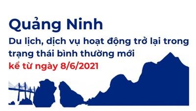 Quảng Ninh: Du lịch, dịch vụ hoạt động trở lại trong trạng thái bình thường mới