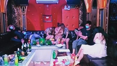 Hải Phòng: 31 thanh niên 'bay lắc' tại quán karaoke giữa mùa dịch