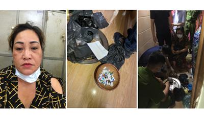 Hải Phòng: Bắt U60 bán ma túy ở quán trà đá vỉa hè