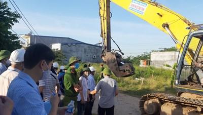 Hải Phòng: Hoàn thành việc cưỡng chế, thu hồi 9,2 ha đất công bị lấn chiếm