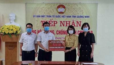 Quảng Ninh: Tiếp nhận hơn 137 tỷ đồng ủng hộ Quỹ phòng chống dịch Covid-19