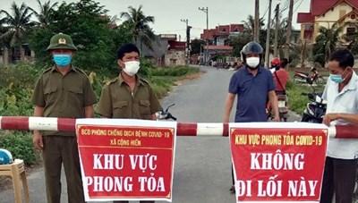 Hải Phòng: Thực hiện giãn cách xã hội theo Chỉ thị 16 đối với huyện Vĩnh Bảo