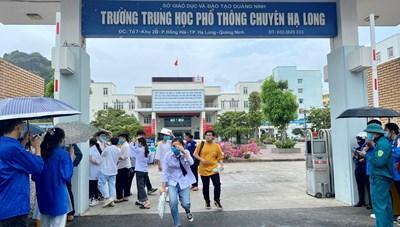 3 thí sinh Quảng Ninh dự thi tốt nghiệp THPT đợt 2 tại Hải Phòng