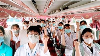 Hải Phòng: 460 y bác sĩ, sinh viên hỗ trợ TP Hồ Chí Minh chống dịch