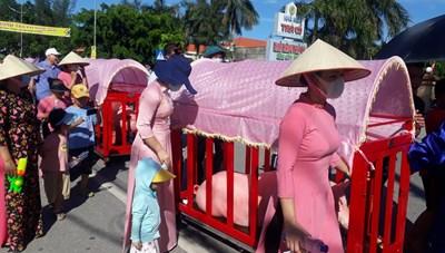 Khai hội đình Trà Cổ tại Quảng Ninh