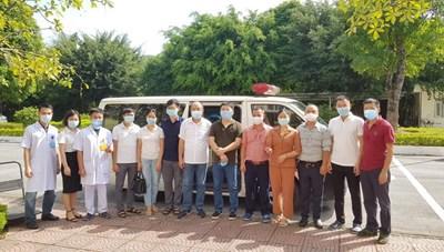 Đoàn y bác sĩ BV Sản nhi Quảng Ninh lên đường chi viện TP Hồ Chí Minh