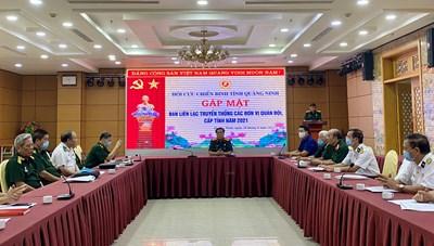 Hội Cựu chiến binh Quảng Ninh gặp mặt Ban liên lạc các đơn vị quân đội, cấp tỉnh