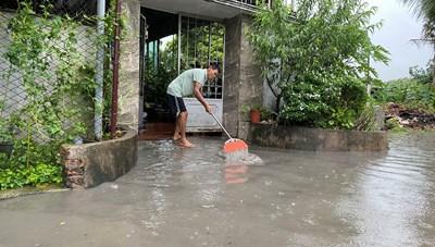 (Ảnh) Quảng Ninh: Mưa lớn gây ngập lụt một số khu vực