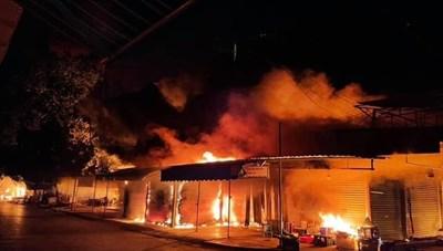 Hải Phòng: Cháy chợ Núi Đèo thiệt hại hàng chục tỷ đồng
