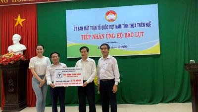 Gần 6 tỷ đồng ủng hộ đồng bào miền Trung của doanh nhân Quảng Ninh