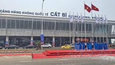 Hải Phòng: Xây Nhà ga hàng hoá tại Cảng hàng không quốc tế Cát Bi